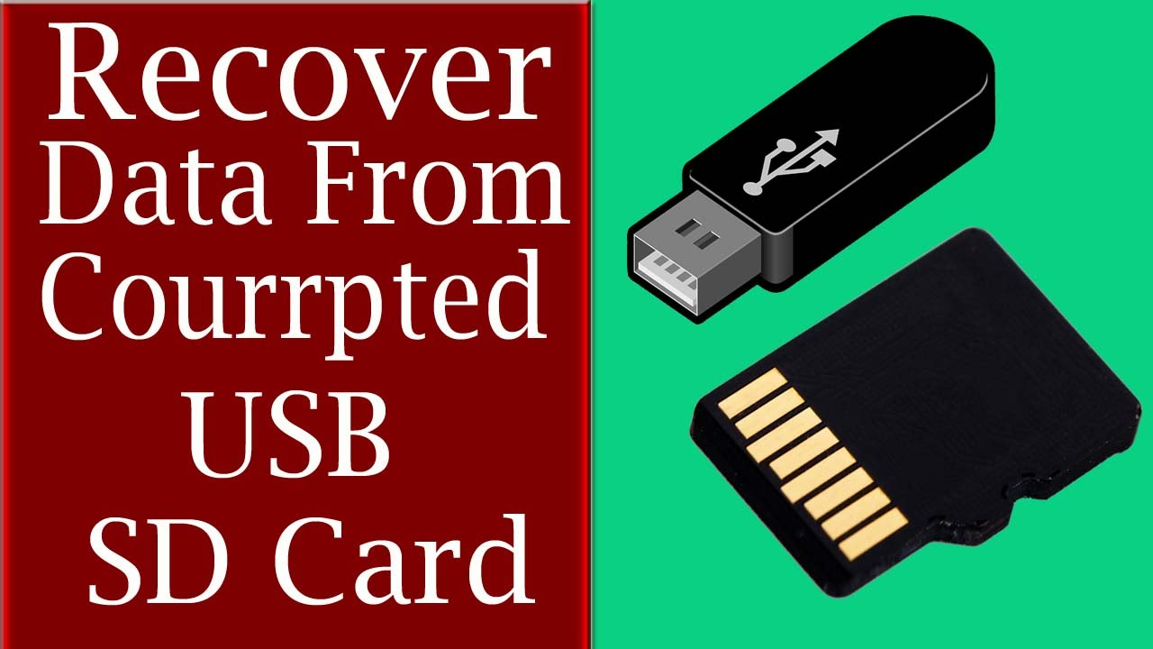 Data recovery from the memory card is possible