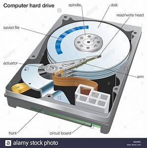 hard disk anatomy interactive